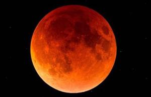 Langste maansverduistering van de eeuw a.s. vrijdagavond 27 juli